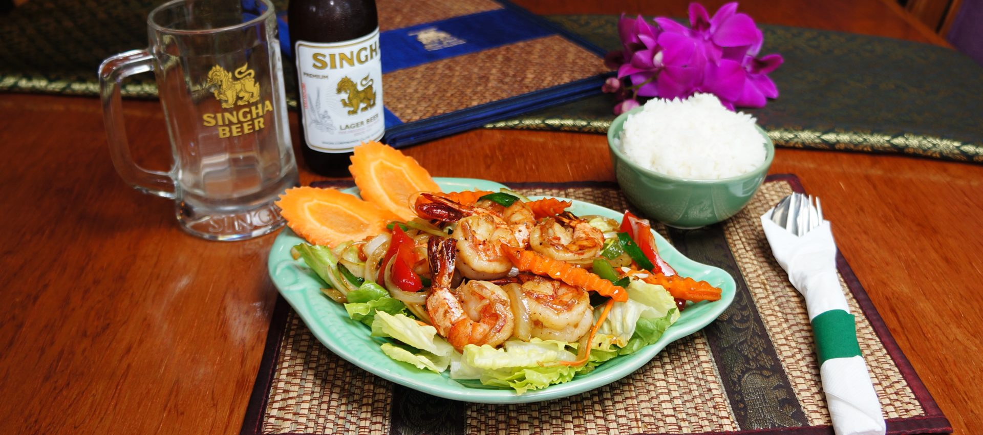 Ban thai restaurant home of smiles for At home thai cuisine